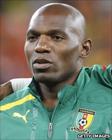 Geremi in Cameroon's team line-up
