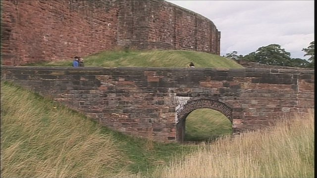 Carlisle Castle long grass
