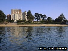 Brownsea Island property