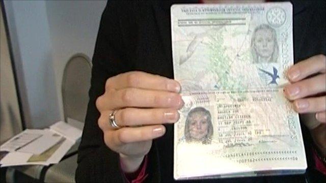 Newly designed UK passport