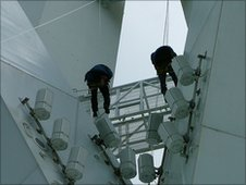 Spinnaker Tower cleaners