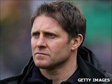 Newcastle Falcons head coach Alan Tait