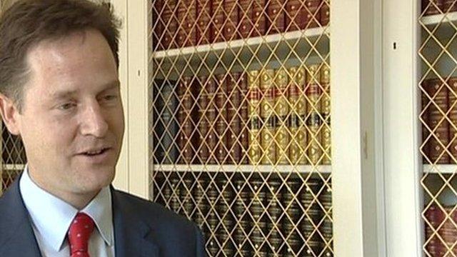 Deputy Leader Nick Clegg