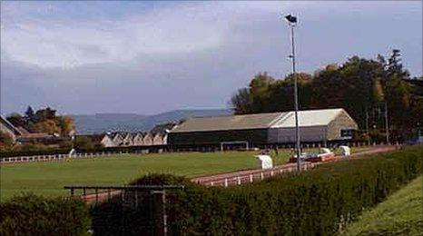 school stadium