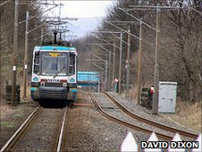 Photo of Metrolink tram (c) David Dixon