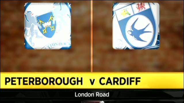 Peterborough 2-1 Cardiff