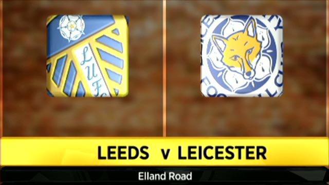 Leeds 1-2 Leicester