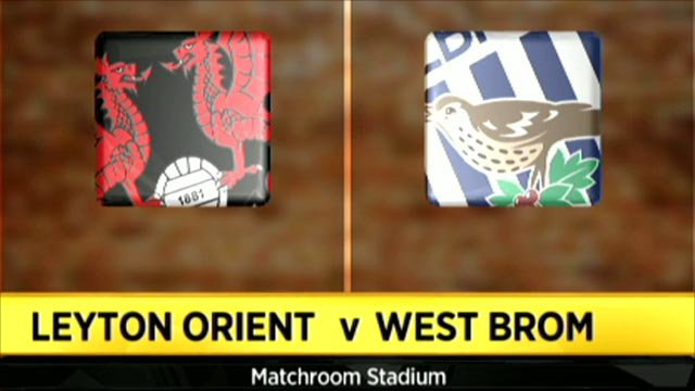 Leyton Orient 0-2 West Brom