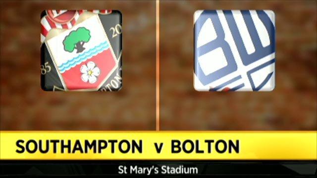 Southampton 0-1 Bolton