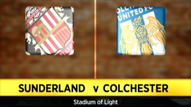Sunderland 2-0 Colchester