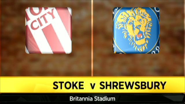 Stoke 2-1 Shrewsbury