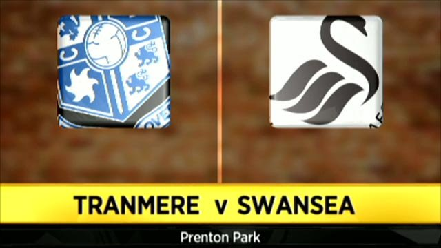 Tranmere 1-3 Swansea