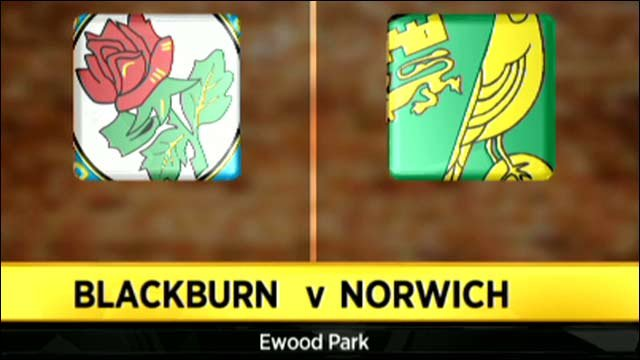 Blackburn 3-1 Norwich