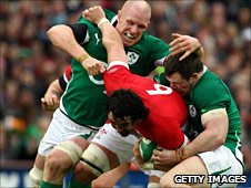 Ireland v Wales in the 2010 Six Nations