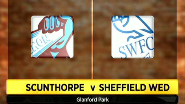 Scunthorpe 4-2 Sheffield Wednesday
