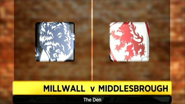 Millwall 2-1 Middlesbrough