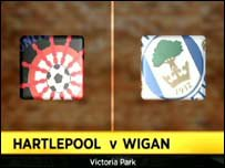 Hartlepool 0-3 Wigan