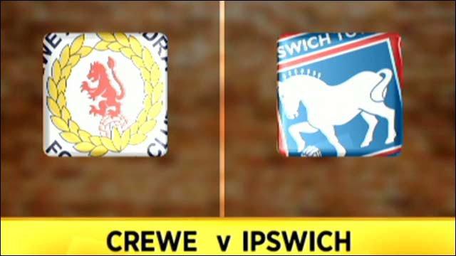 Crewe 0-1 Ipswich