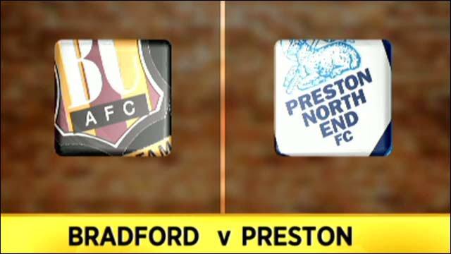 Bradford 1-2 Preston