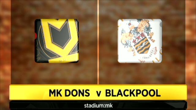 MK Dons 4-3 Blackpool