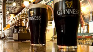 Pints of Guinness