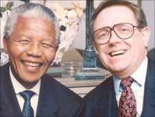 Nelson Mandela and Ed Doolan
