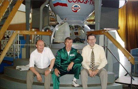 Krikalev, Pchelyakov and Ignatiev