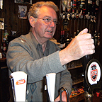 Pub landlord Ron Backhouse