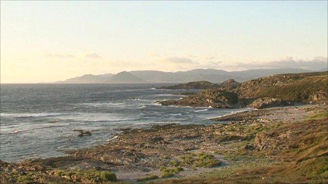 The Galician coast