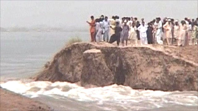 Flooding in southern Pakistan