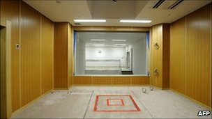 Execution room, Tokyo Detention Centre, 27 August 2010