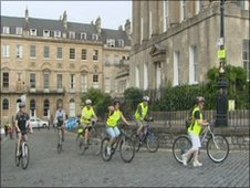 Sky Ride Bath 2010 event