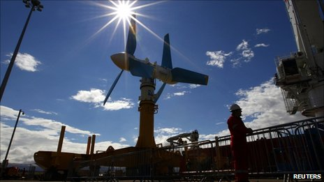 World&#039;s largest tidal turbine