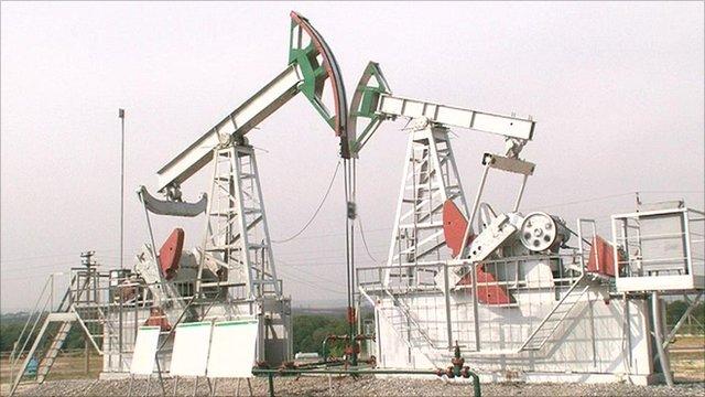 Oil field in Tatarstan
