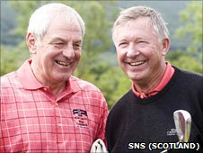 Walter Smith and Sir Alex Ferguson