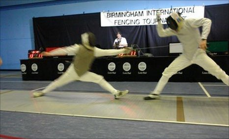 Bbc Sport Fencing Rhys Melia Is Excited By Olympic