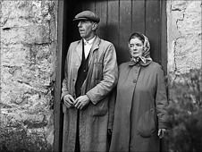 Tryweryn residents Mabel and John William Evans.  Photo by Geoff Charles