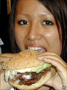 A whale burger