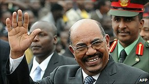 Omar al-Bashir in Nairobi, 27 August 2010