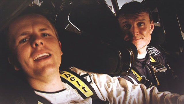 Jake Humphrey & David Coulthard