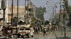 US troops in Falluja