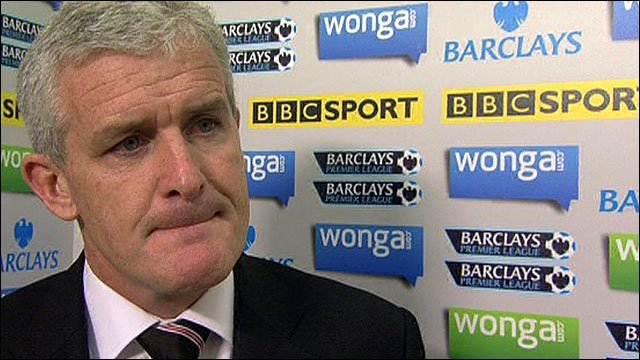 Fulham manager Mark Hughes