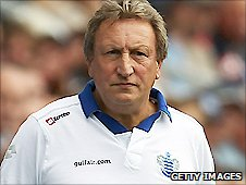 QPR boss Neil Warnock