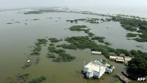 Sujawal submerged