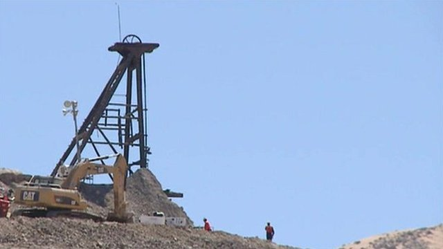 Mine in Chile where miners are trapped