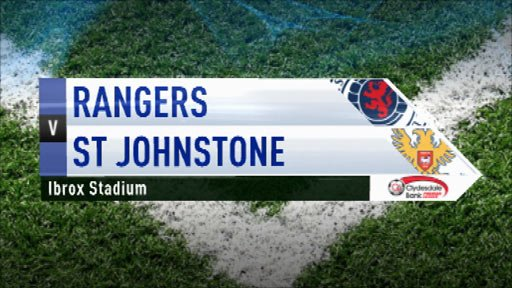 Highlights - Rangers 2-1 St Johnstone