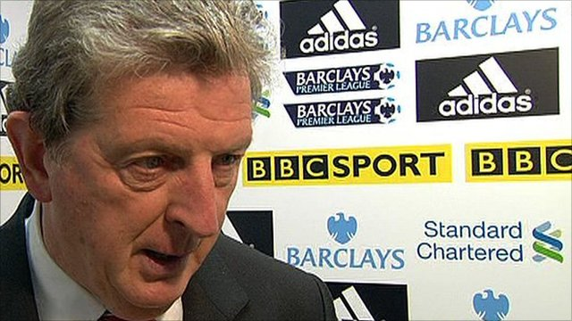 Liverpool boss Roy Hodgson