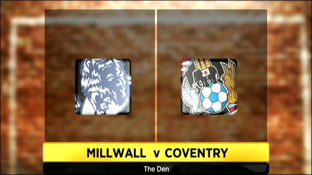 Millwall 3-1 Coventry