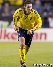 Scotland left-back Lee Wallace