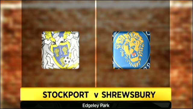 Stockport 0-4 Shrewsbury